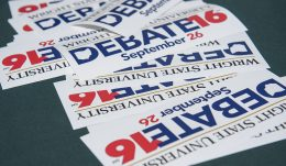 Students eager to volunteer and enter presidential debate ticket lottery