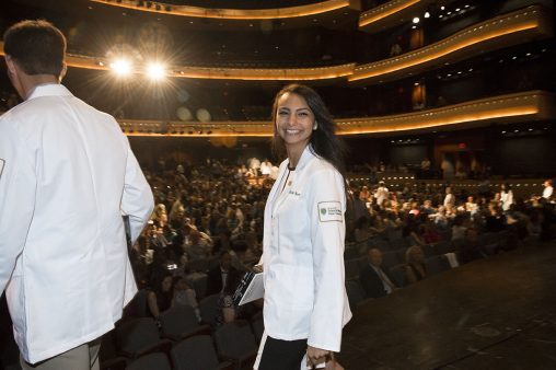 During the Boonshoft School of Medicine's July 17 ceremony, students will take an oath of professional medical ethics and receive a white coat personalized with his or her name and the medical school patch.