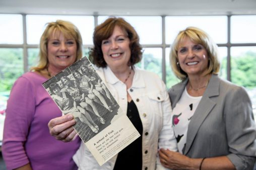 The Fish sisters were highly involved in campus life as Wright State students in the 1970s.