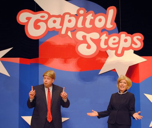 The political satire group Capitol Steps will perform at 8 p.m. on Sept. 24 in the Nutter Center.