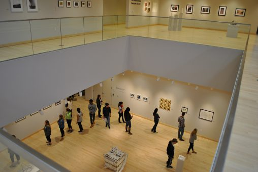 The Robert and Elaine Stein Galleries, which moved to a new location in the Creative Arts Center as part of the building's modernization project, features five airy, light-filled gallery spaces where visitors can enjoy rotating exhibitions, the Stein family and Galleries Collections and videos.