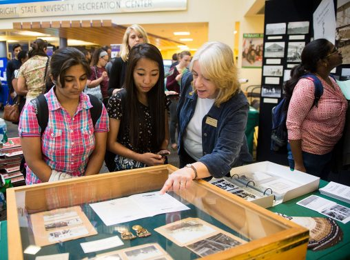 Wright State's Special Collections and Archives and its head, Dawne Dewey, will display an exhibit on the Wright Brothers factory, the first such facility in the United States to manufacture airplanes.