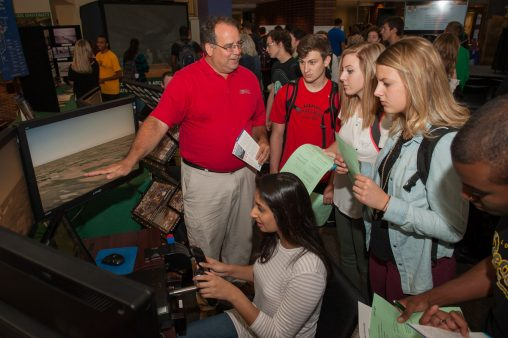 Featuring displays of innovative projects from Wright State researchers and local organizations, Wright Brothers Day takes place Oct. 5, 11 a.m.-2 p.m. in the Student Union Atrium.