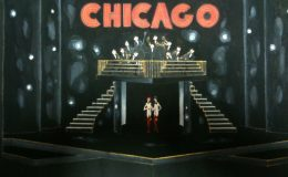 "Original Broadway set design by Tony Walton for ""Chicago."""
