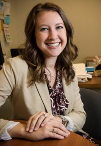 Kelli Tittle, a 2006 Wright State graduate, is the university's new director of compliance. (Photo by Will Jones)