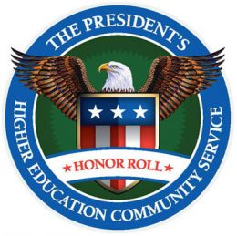 Wright State recognized by White House for community service