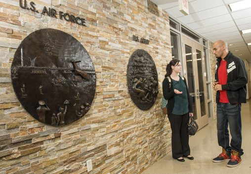 Wright State's Veteran and Military Center provides a welcoming space on campus for veteran and military students.