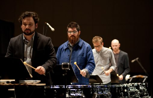 Sō Percussion will be in residence at Wright State from Jan. 26 to Jan. 28. (Photo courtesy of Sō Percussion)