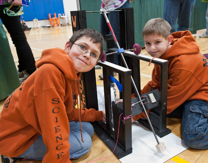 Saturday marked Wright State University's first-ever Science Olympiad Invitational.