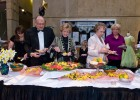 Guests feasted on culinary delights in five dining halls.