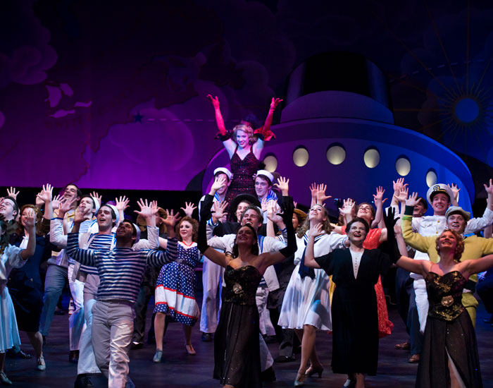 "Musical theatre students presented selections from our fall musical, ""Anything Goes."""
