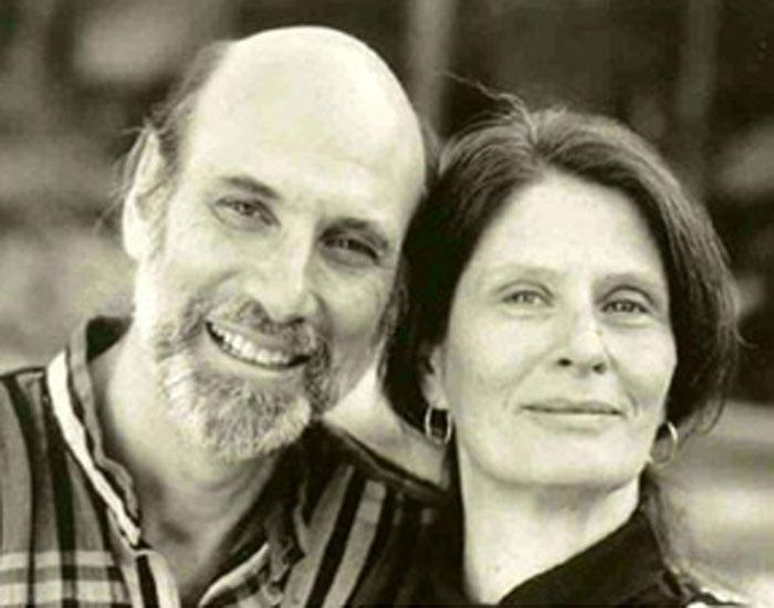 Photo of Stephen Bergman and partner Janet Surrey