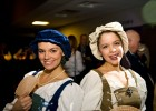 Photo of two women dressed in Renaissance garb.