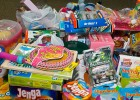 Photo of toys collected for needy kids in the Miami Valley