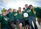 Photo of a student ultimate Frisbee team.