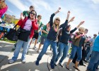 Photo of students dancing at April Craze.