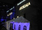 Photo of the entrance tent at ArtsGala