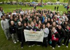 Photo of Wright students, faculty and staff at the 2012 Miami Valley March For Babies.