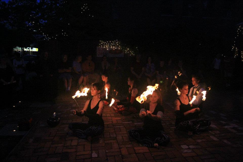 Photo of Soul Fire Tribe performing