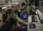 Photo of pre-college students in the Camp Discovery Video class.
