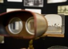 Photo of antique stereo viewer at Wright Brothers Day