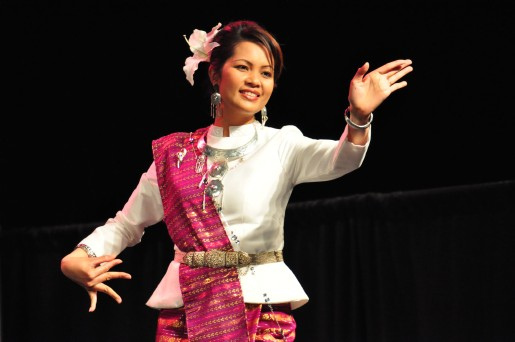 Photo of performer from Asian Culture Night 2011