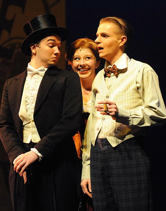 Photo of three actors