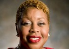 Photo of Kimberly Barrett, who is Wright State University's new Vice President—Multicultural Affairs and Community Engagement.
