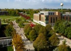 Photo of Wright State University's Dayton campus