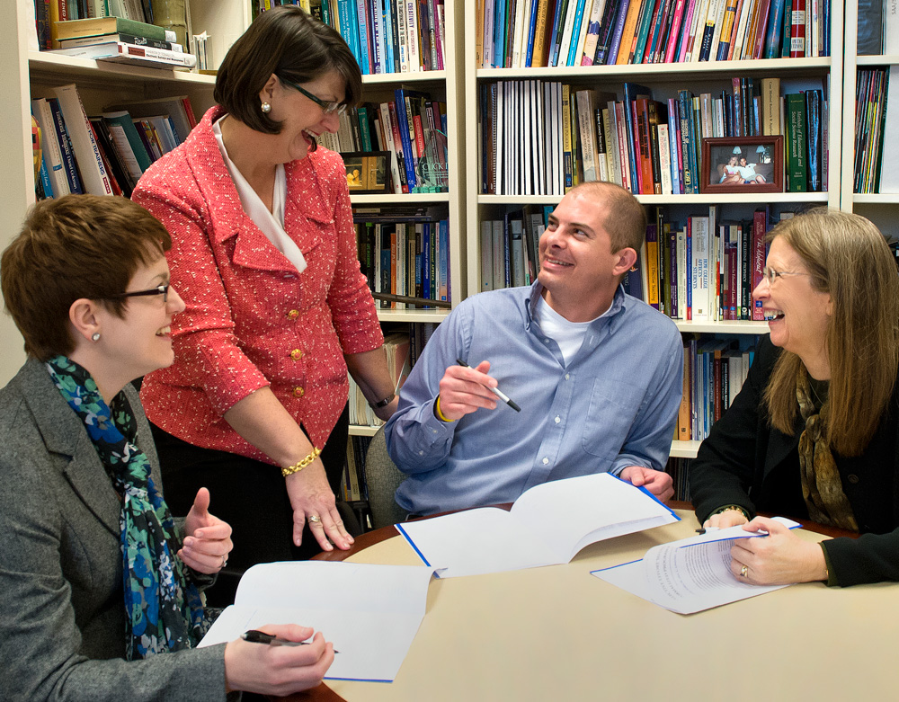 The College of Education and Human Services is accepting applications for its Ed.D. in Organizational Studies.