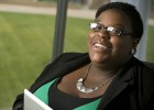 Wright State fourth-year student Quanita McRoberts