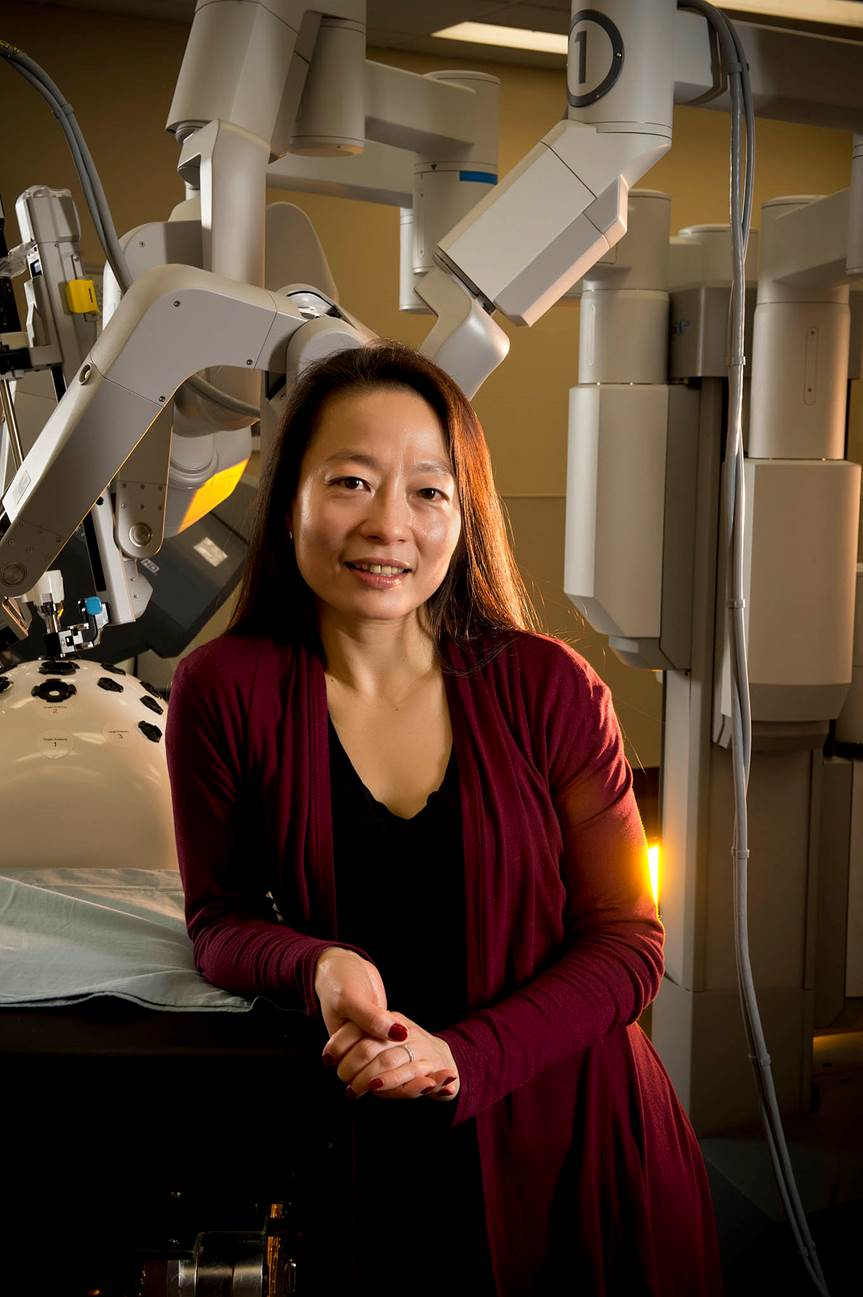 Wright State medical researcher Caroline Cao