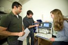 Biomedical Sciences students in lab