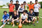 LEAP soccer players