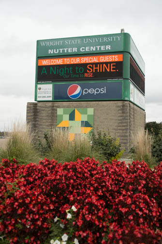 Nutter Center sign