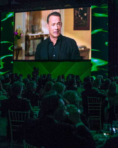 Tom Hanks in video message