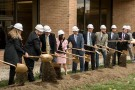 Coffee shop groundbreaking