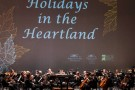 """Holidays in the Heartland"" holiday stage"