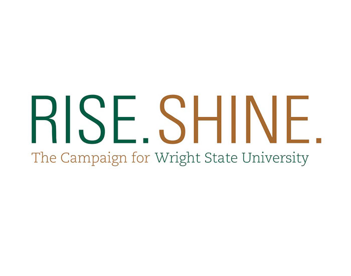 wright state newsroom  u2013 rise shine  campaign announcement