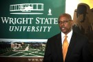 Cedric Alexander speaking at Wright State