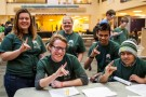 Wright State volunteers