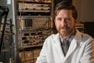 Adam Deardorff in imaging lab