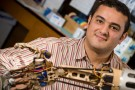 Sherif Elbasiouny with prosthetic arm