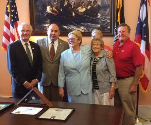 Donna Schlagheck and family at Ohio House