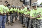 ROTC volunteers flex muscles