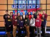 """Emily Bingham was among the 15 contestants competing in the """"Jeopardy! College Championship,"""" which was filmed at Sony Pictures Studios' Stage 10 in Culver City, California."""