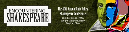 Wright State hosting Shakespeare conference on 400th anniversary of the famous playwright's death
